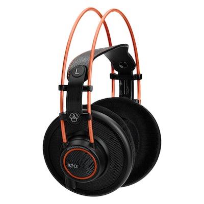 Orange and black like the AKG K712 Pro
