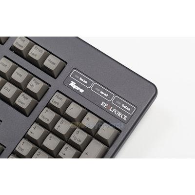 "Realforce 104UG ""High-Profile"" (Black/Gray) - Elitekeyboards.com - Products"