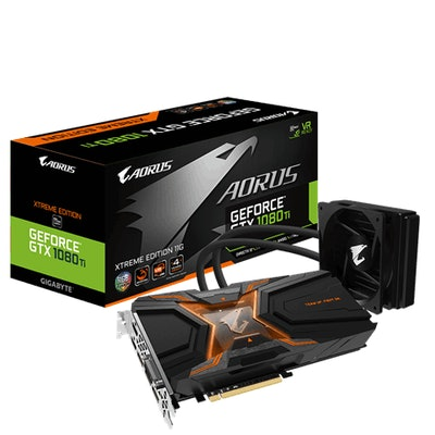 AORUS GeForce® GTX 1080 Ti Waterforce Xtreme Edition 11G (rev. 1.0