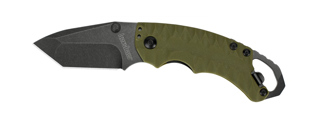 Shuffle II, olive   Kershaw Knives