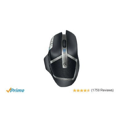 Amazon.com: Logitech G602 Gaming Wireless Mouse with 250 Hour Battery Life: Comp