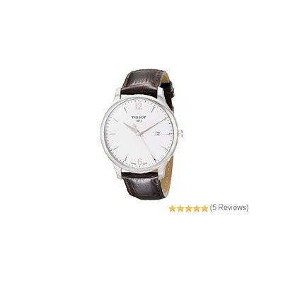 Tissot Men's T063.610.16.037.00 Dial Tradition Silver Dial Watch: Tissot: Amazon