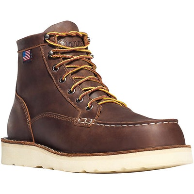 "Danner - Bull Run Moc Toe 6"" Brown"