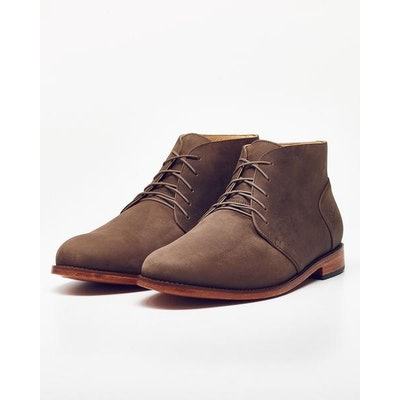 Emilio Chukka Boot in Steel | Nisolo
