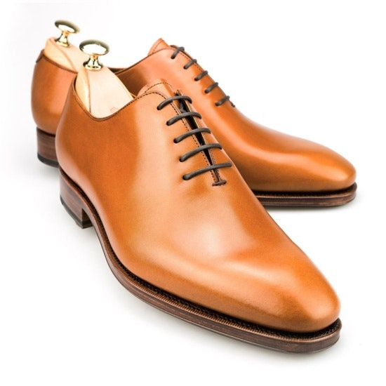Tanned Wholecut Oxford Shoes | CARMINA