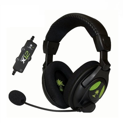 Amazon.com: Turtle Beach Ear Force X12 Amplified Stereo Gaming Headset for Xbox