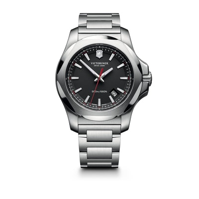 I.N.O.X. Steel - New Rugged Watch (Black) | Victorinox