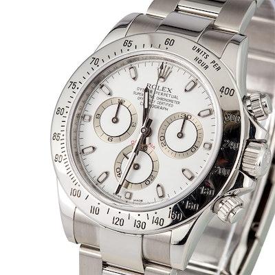 Rolex Daytona 116520 silver sub-dials