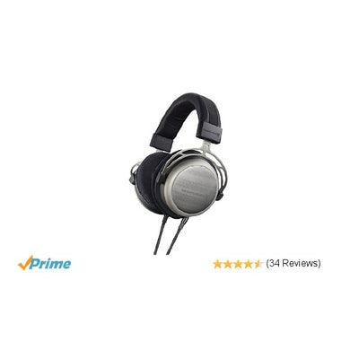 Amazon.com: beyerdynamic T1 2nd Generation Audiophile Stereo Headphones with Dyn