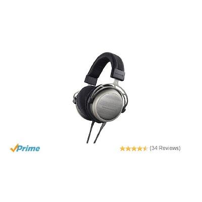 Amazon.com: beyerdynamic T1 2nd Generation Audiophile Stereo Headphones with Dyn
