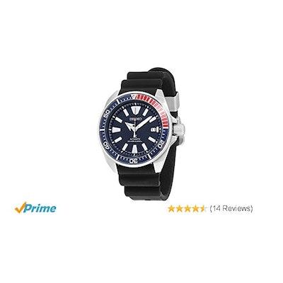 Amazon.com: Seiko Men's Prospex Automatic Diver Silicone Strap Watch: Watches