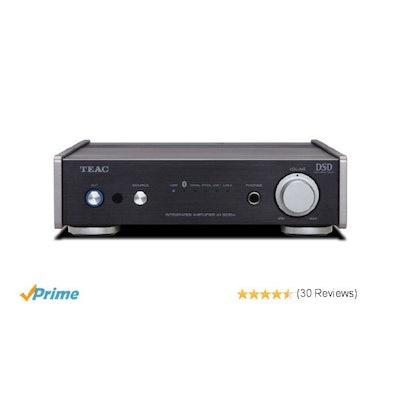 Amazon.com: Teac AI-301DA-BK Integrated Amplifier with Bluetooth USB and DAC (Bl