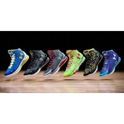 UnderArmour Curry One's
