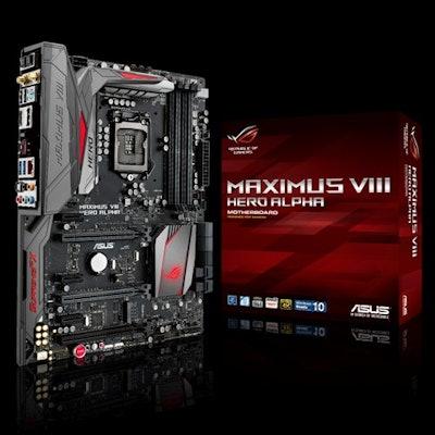 ASUS ROG MAXIMUS VIII HERO ALPHA LGA 1151 Intel Z170 HDMI SATA 6Gb/s USB 3.1 USB