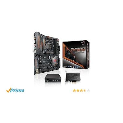 Amazon.com: ASUS ROG MAXIMUS VIII EXTREME/ASSEMBLY EATX DDR4 3000 LGA 1151 Mothe