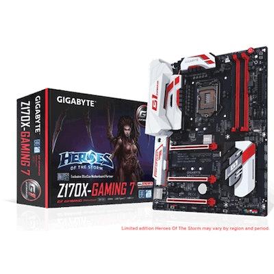 GIGABYTE  - Motherboard - Socket 1151 - GA-Z170X-Gaming 7 (rev. 1.0)