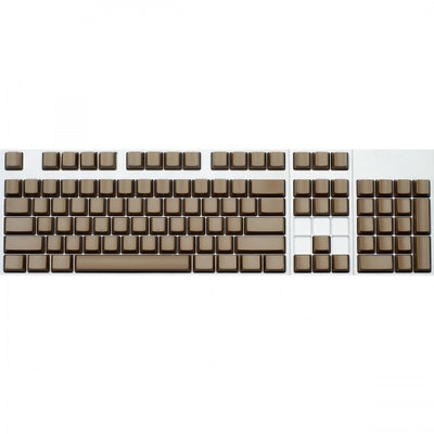 MAX ANSI 104-KEY CHERRY MX REPLACEMENT KEYCAP SET  (BROWN ABS)