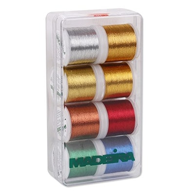 Madeira Classic Metallic Embroidery Thread Pack