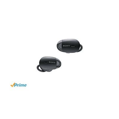 Amazon.com: Sony Premium Noise Cancelling True Wireless Headphones - Black (WF10