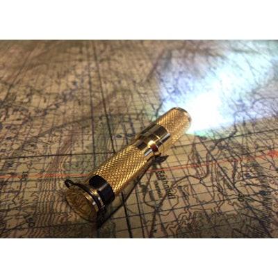 """CountyComm - Maratac™ AAA """"Brass"""" Flashlight"""