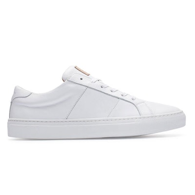Greats - Italian Leather Sneaker - The Royale White   Greats