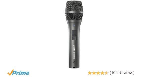 Amazon.com: Audio-Technica AT2005USB Cardioid Dynamic USB/XLR Microphone: Musica