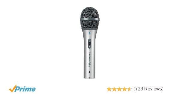 Amazon.com: Audio-Technica ATR2100-USB Cardioid Dynamic USB/XLR Microphone: Musi