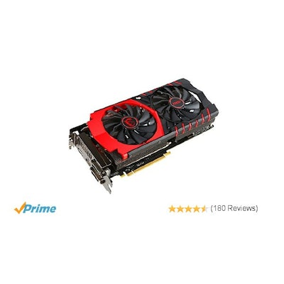 MSI R9 390 GAMING 8G Graphics Card: Computers & Accessories