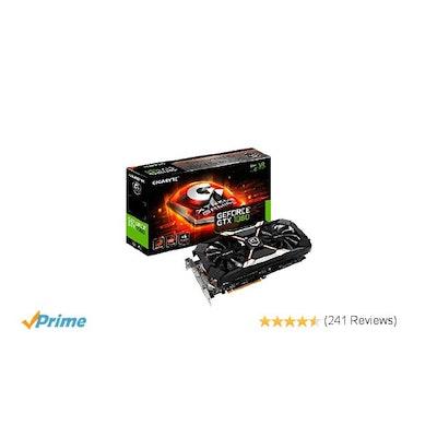 Amazon.com: Gigabyte GeForce GTX 1060 Xtreme Gaming 6GB GDDR5 Graphics Card (GV-