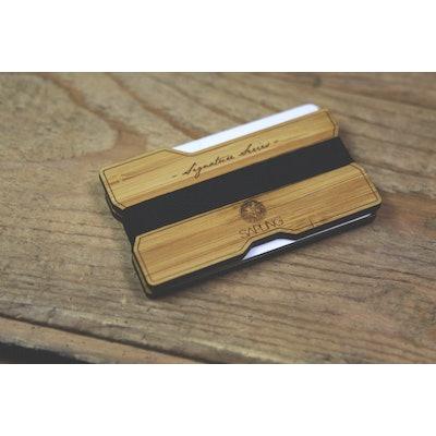 Signature Series Wood Wallet V2 - Sapling Inc.