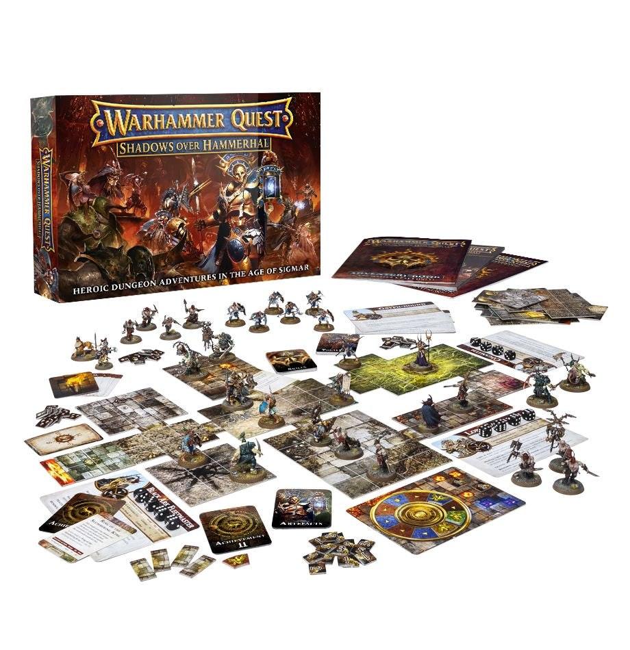 Warhammer Quest Shadows Over Hammerhal