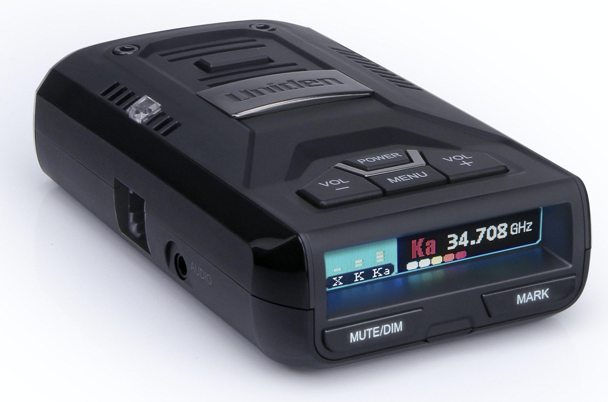 Uniden R3 GPS Enabled Extreme Range Radar & Laser Detector