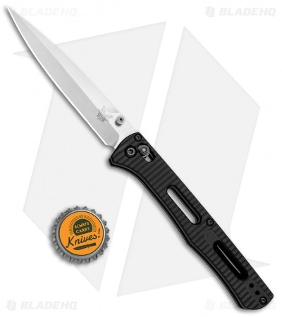 "Benchmade Fact AXIS Lock Knife Black Aluminum (3.95"" Satin) 417 - Blade HQ"