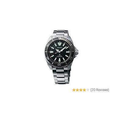 Seiko Prospex Samurai Stainless Steel Automatic Dive Watch