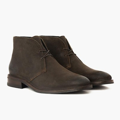 Men's Dark Olive Suede Scout Chukka | Thursday Boot Company