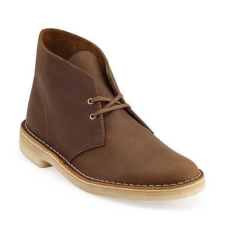 Clarks Originals Desert Boot in Beeswax Leather