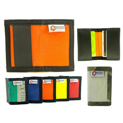 Compare] Recycled Firefighter wallets Bi-Fold and Slim Poll