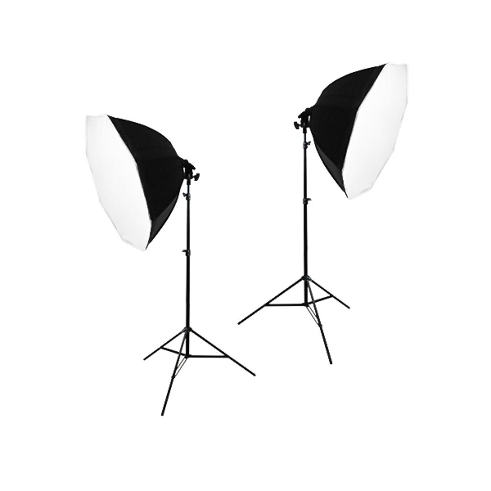 2 Softbox Studio Video Photo Lighting Photography Light Kit GLC042 | Jet.com