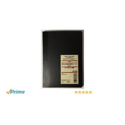 MUJI High Quality Paper Notebook A6 6mm Rule 72sheets