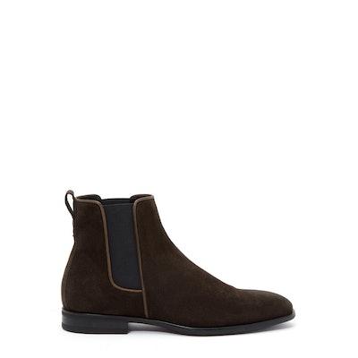 Adrian | Men's Boots in Dark Brown from Italy | Aquatalia®