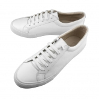 Kent Wang White Leather Sneaker