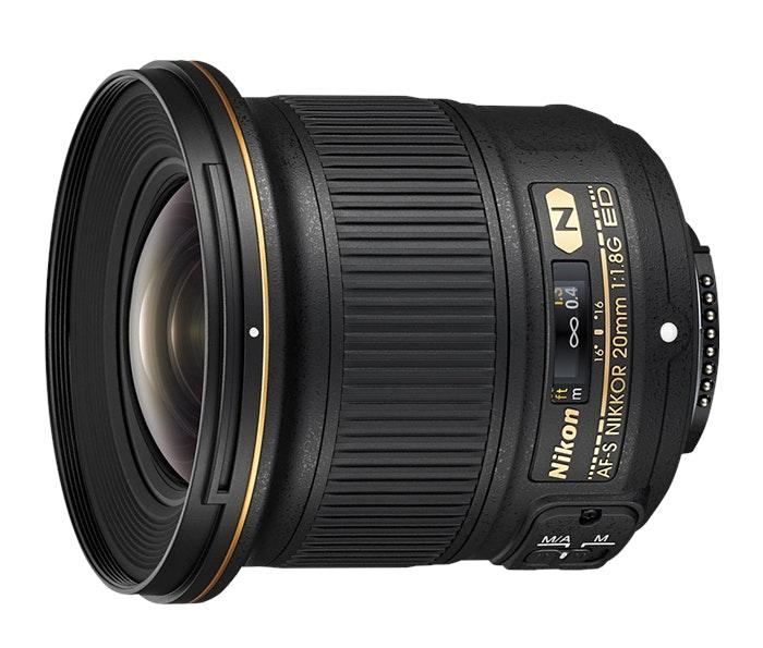 AF-S NIKKOR 20mm f/1.8G ED   Interchangeable Lens from Nikon