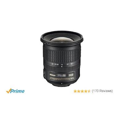 Nikon AF-S DX NIKKOR 10-24mm f/3.5-4.5G ED Zoom Lens with Auto Focu