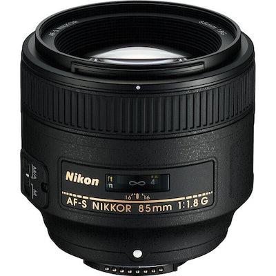 Nikon  AF-S NIKKOR 85mm f/1.8G Lens 2201 B&H Photo Video