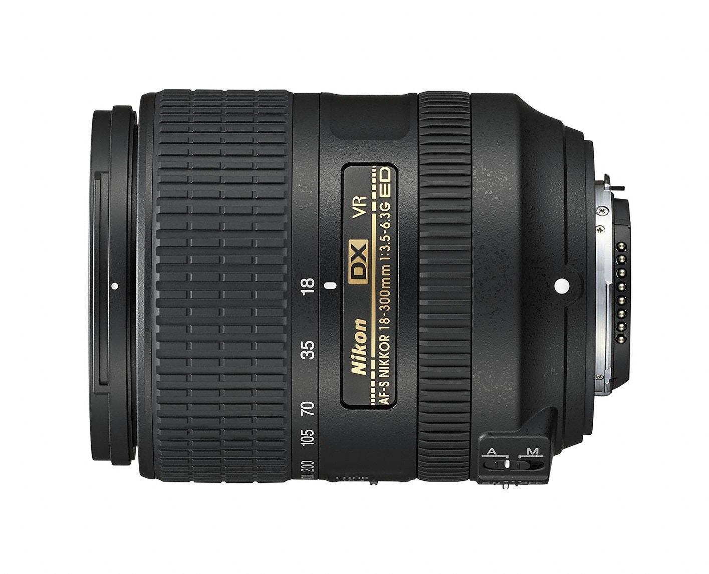 Nikon AF-S DX NIKKOR 18–300mm f/3.5–6.3G ED VR Lens   NIKKOR DX