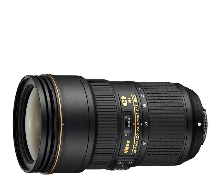 Nikon AF-S NIKKOR 24-70mm f/2.8E ED VR lens   Interchangeable Lens for DSLR came