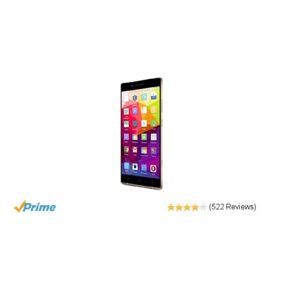 Amazon.com: BLU PURE XL Smartphone - 4G LTE GSM Unlocked - 64GB +3GB RAM - Gold:
