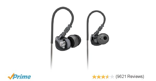 Amazon.com: MEE audio Sport-Fi M6 Noise Isolating In-Ear Headphones with Memory