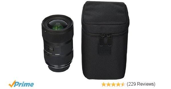 Amazon.com : Sigma 210306 18-35mm F1.8 DC HSM Lens for Nikon APS-C DSLRs (Black)
