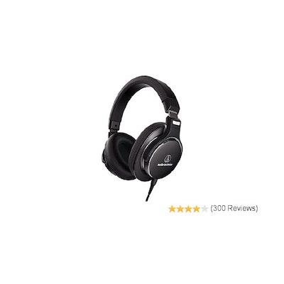 Amazon.com: Audio-Technica ATH-MSR7NC SonicPro High-Resolution Headphones with A